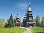 The Museum of Wooden Architecture and the St. George Monastery